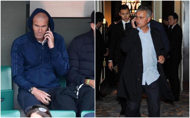 Zidane và Mourinho