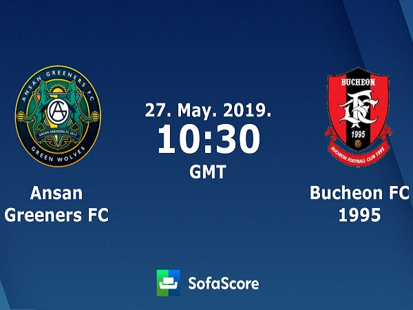 Soi kèo Ansan Greeners vs Bucheon, 17h30 ngày 27/05