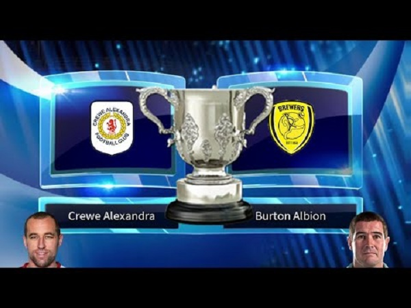 Nhận định Crewe vs Burton Albion, 1h30 ngày 4/09
