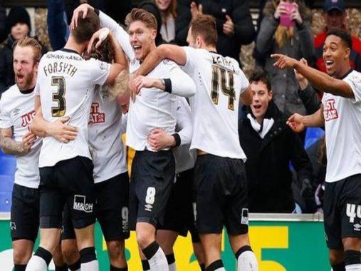 Nhận định tỷ lệ Derby County vs Charlton Athletic (2h45 ngày 31/12)
