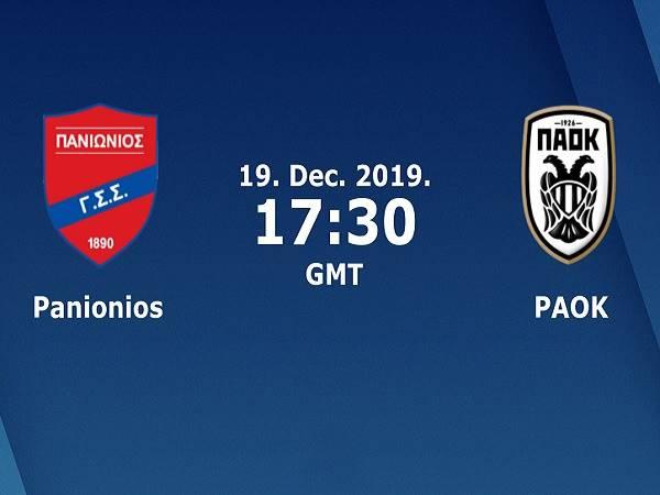 Nhận định Panionios vs PAOK, 0h30 ngày 20/12