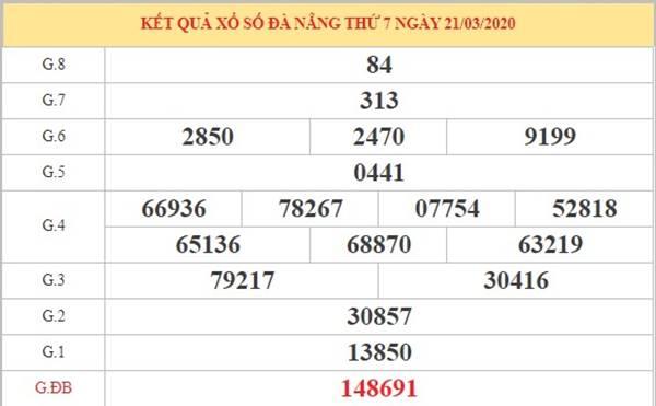 Phân tích XS Đà Nẵng thứ 4 ngày 25-3-2020