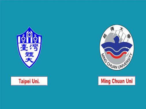 Nhận định Taipei University vs Ming Chuan University, 15h00 ngày 2/4