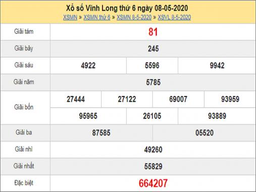 Phân tích KQXSVL- xổ số vĩnh long thứ 6 ngày 15/05