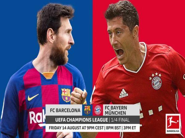 Nhận định Barcelona vs Bayern Munich