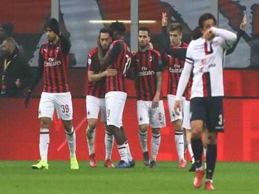 Nhận định tỷ lệ Cagliari vs AC Milan (2h45 ngày 19/1)
