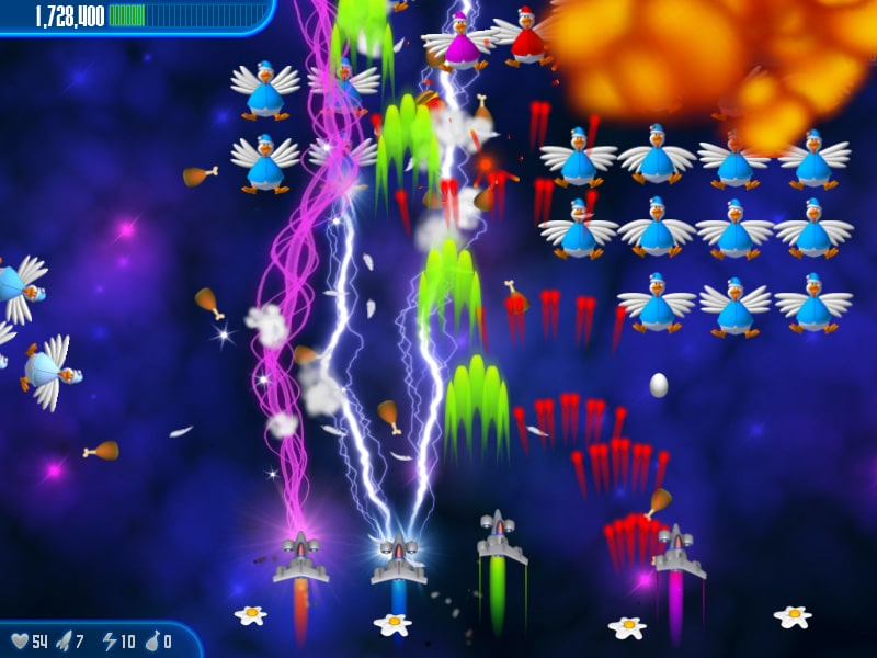 game bắn gà Chicken Invaders 3