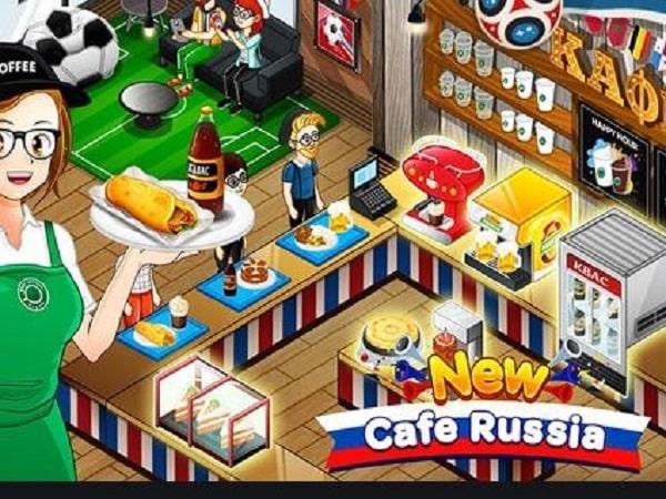 Cafe Panic game bán hàng