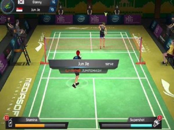 Game Li-Ning Jump Smash 15