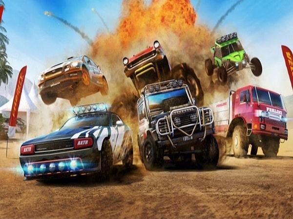 MotoHeroz là game đua xe địa hình cho điện thoại