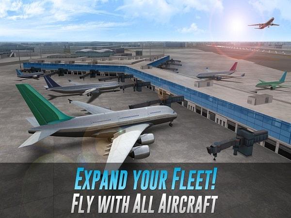 Game mô phỏng lái máy bay Airline Commander