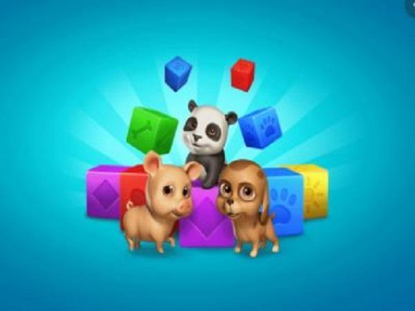Pet Rescue Saga game giải đố nối 3