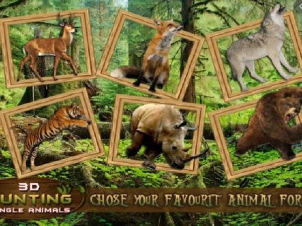 game săn thú Hunting Jungle Animals