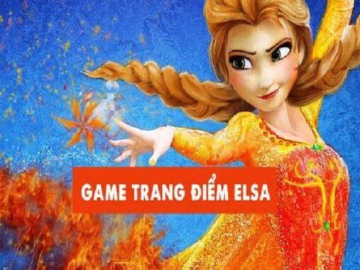 game trang điểm cho Elsa