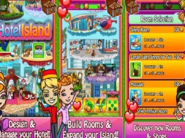 Game quản lý khách sạn Hotel Island