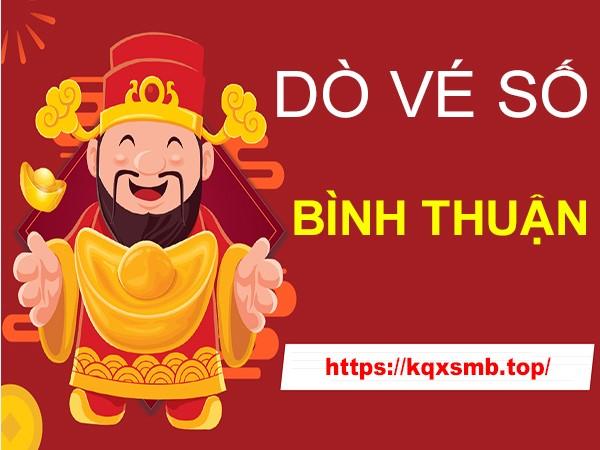 Hướng dẫn cách dò vé số Bình Thuận hôm nay thứ 5 chính xác nhất