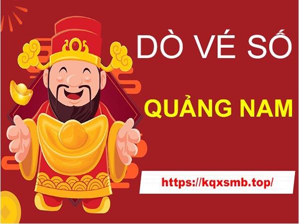 Hướng dẫn cách dò vé số Quảng Nam hôm nay thứ 3 chính xác nhất