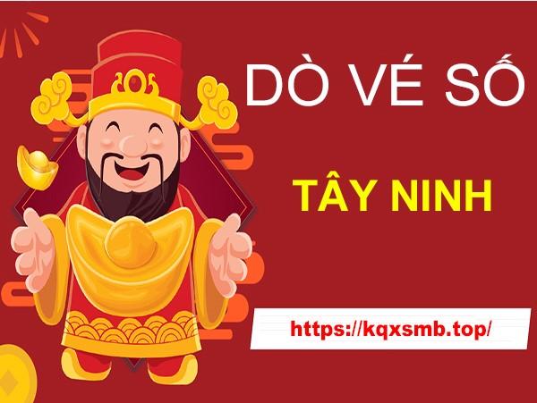 Hướng dẫn cách dò vé số Tây Ninh hôm nay thứ 5 chính xác nhất