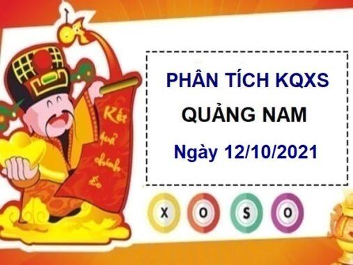 Phân tích KQXSQNM ngày 12/10/2021 chốt số Quảng Nam thứ 3
